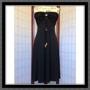 Cute & comfy black dress - EUC - Size Medium